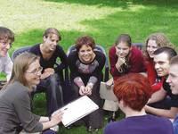 Jugendcoach Imke-Marie Badur beim Schüler-Coaching